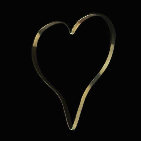 Χειροποίητο βραχιόλι καρδιά από αλπακά