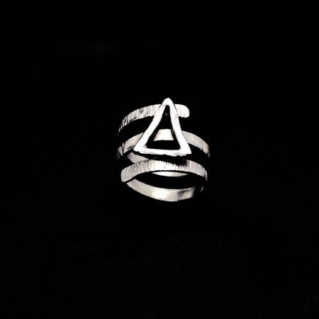 Handmade ring with monogram