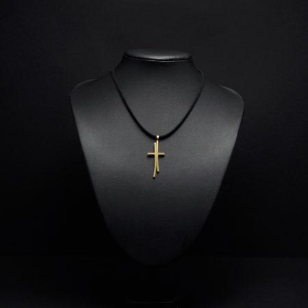 Χειροποίητος σταυρός με ορείχαλκο