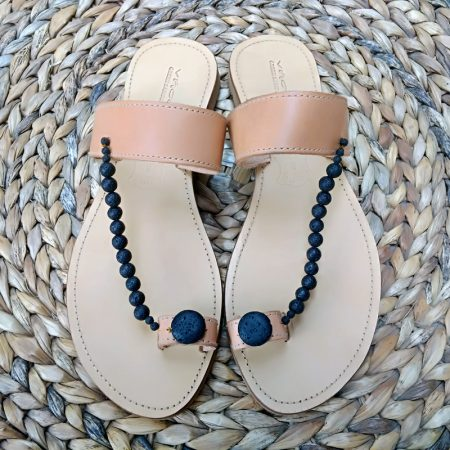 "Handmade Greek leather ""ethnic"" sandals"
