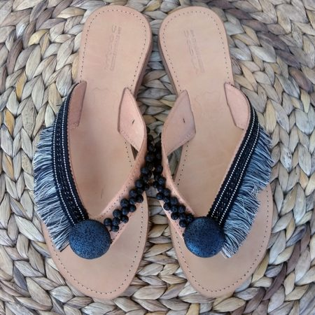 "Handmade Greek leather ""ethnic"" sandals!"