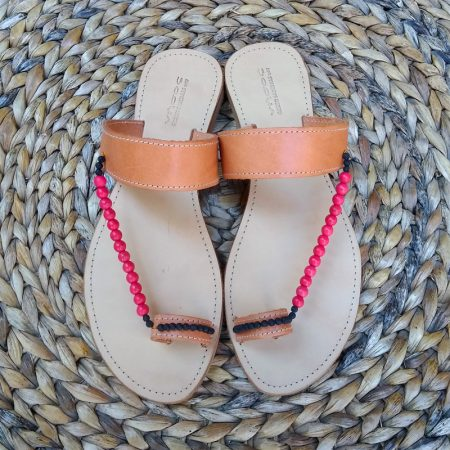 "ΧHandmade Greek leather ""ethnic"" sandals!"