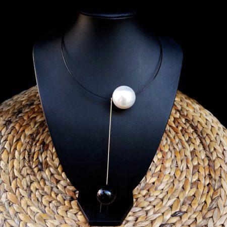 Handmade minimal style necklace!